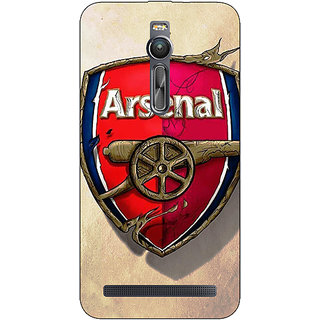 Jugaaduu Arsenal Therry Henry Back Cover Case For Asus Zenfone 2 ZE550 ML - J770514