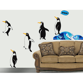 Wall Stickers- Jumping Penguins @ New Way Decals (7519)
