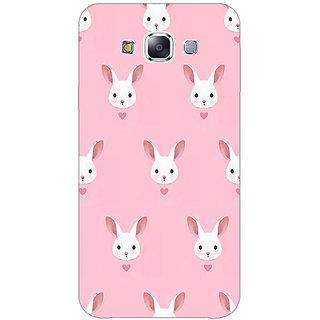 Jugaaduu Rabbit Back Cover Case For Samsung A8 - J810098