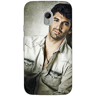 Jugaaduu Bollywood Superstar Aditya Roy Kapoor Back Cover Case For Moto G3 - J670924
