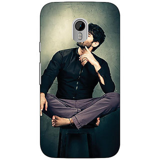 Jugaaduu Bollywood Superstar Aditya Roy Kapoor Back Cover Case For Moto G3 - J670940