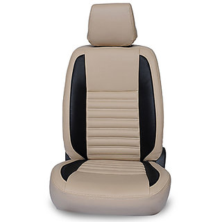 BECART PU Leather Seat Cover for Kwid