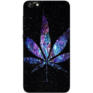 Jugaaduu Weed Marijuana Back Cover Case For Huwaei Honor 4X - J690494