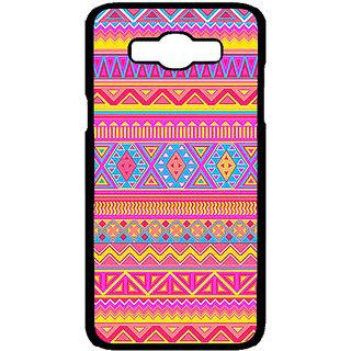 Jugaaduu Aztec Girly Tribal Back Cover Case For Samsung Galaxy J7 - J700072
