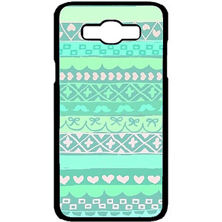 Jugaaduu Aztec Girly Tribal Back Cover Case For Samsung Galaxy J7 - J700074
