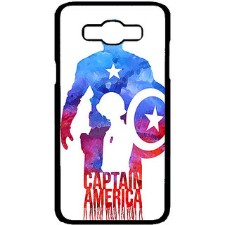 Jugaaduu Superheroes Captain America Back Cover Case For Samsung Galaxy J7 - J700332