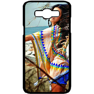 Jugaaduu Bollywood Superstar Shruti Hassan Back Cover Case For Samsung Galaxy J7 - J701071