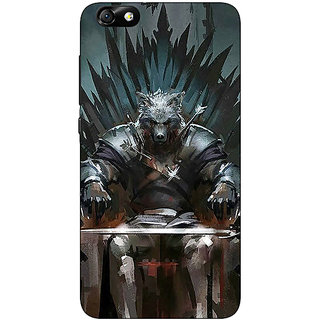 Jugaaduu Game Of Thrones GOT Iron Throne King Of The North Back Cover Case For Huwaei Honor 4X - J691533