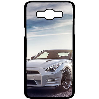 Jugaaduu Super Car Mustang Back Cover Case For Samsung Galaxy J7 - J700648