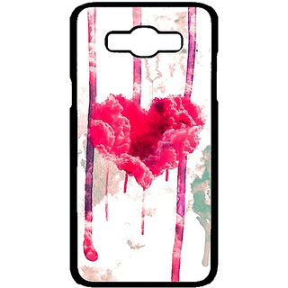 Jugaaduu Love Heart  Back Cover Case For Samsung Galaxy J7 - J700707