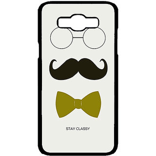 Jugaaduu Mustache Back Cover Case For Samsung Galaxy J7 - J700757