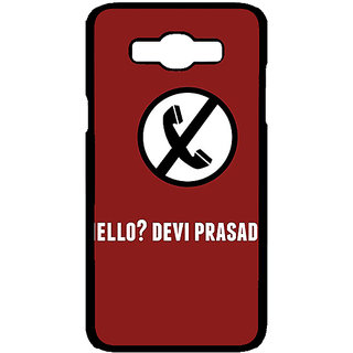 Jugaaduu Bollywood Superstar Hera Pheri Devi Prasad Back Cover Case For Samsung Galaxy J7 - J701084