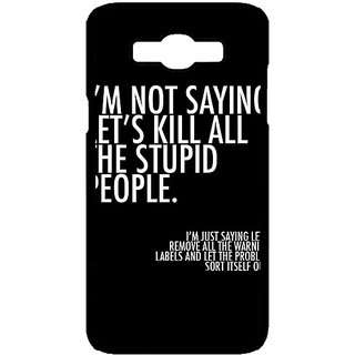 Jugaaduu Quote Back Cover Case For Samsung Galaxy J7 - J701334