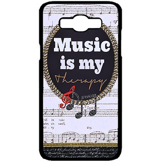 Jugaaduu Music Quote Back Cover Case For Samsung Galaxy J7 - J701402