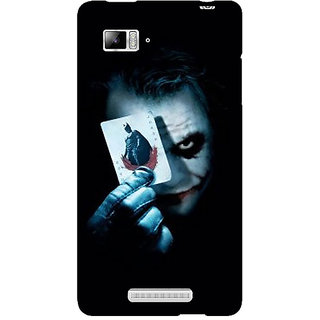 Jugaaduu Villain Joker Back Cover Case For Lenovo K910 - J710032