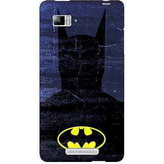 Jugaaduu Superheroes Batman Dark knight Back Cover Case For Lenovo K910 - J710042