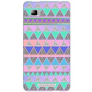 Jugaaduu Aztec Girly Tribal Back Cover Case For Lenovo K910 - J710068