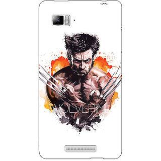 Jugaaduu Superheroes Wolverine Back Cover Case For Lenovo K910 - J710335