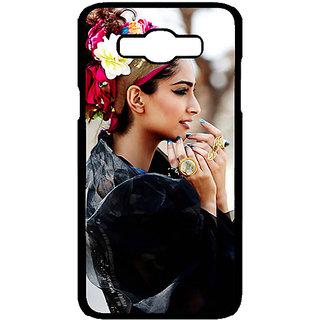 Jugaaduu Bollywood Superstar Sonam Kapoor Back Cover Case For Samsung Galaxy J7 - J700984