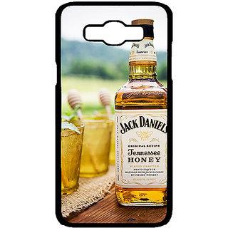 Jugaaduu Jack Daniels JD Whisky Back Cover Case For Samsung Galaxy J7 - J701211