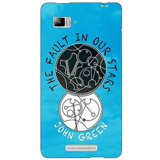 Jugaaduu TFIOS World  Back Cover Case For Lenovo K910 - J710114