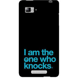 Jugaaduu Breaking Bad Heisenberg Back Cover Case For Lenovo K910 - J710410