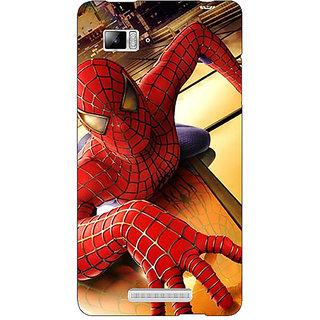 Jugaaduu Superheroes Spiderman Back Cover Case For Lenovo K910 - J710874