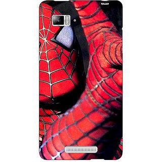 Jugaaduu Superheroes Spiderman Back Cover Case For Lenovo K910 - J710900