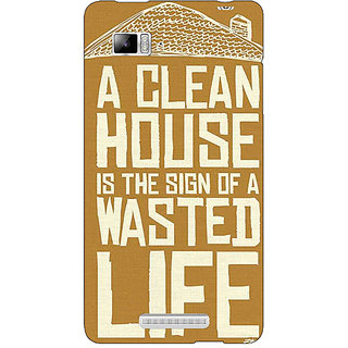 Jugaaduu Quote Back Cover Case For Lenovo K910 - J711371