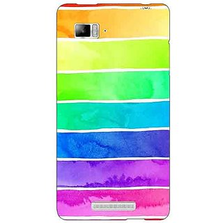 Jugaaduu Shades Of Life Pattern Back Cover Case For Lenovo K910 - J710250