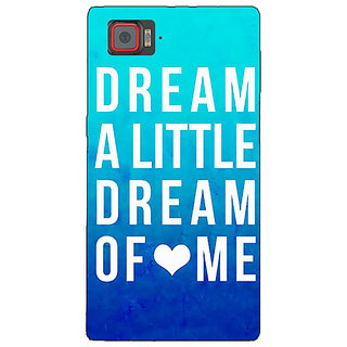 Jugaaduu Dream Love Back Cover Case For Lenovo K920 - J720089