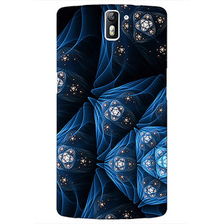 Jugaaduu Abstract Design Pattern Back Cover Case For OnePlus One - J411513