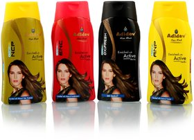 Adidev Herbals Summer Care Shampoo Combo Pack (Set of 4)
