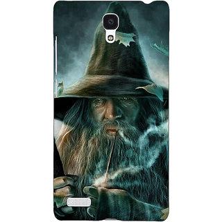 Jugaaduu LOTR Hobbit Gandalf Back Cover Case For Redmi Note - J180364