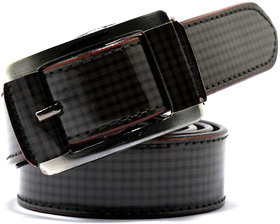 Wholesome Deal womens multi colour non Leatherite pin buckle belt with 1.2 inches