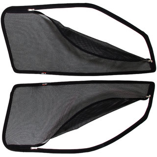 Able Spider Car Magnetic Sun Shade Curtains With Zipper For AUDI AUDI-A6 Set Of 2