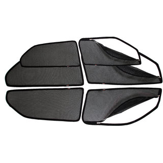 Able Spider Car Magnetic Sun Shade Curtains With Zipper For AUDI AUDI-Q5 Set Of 6