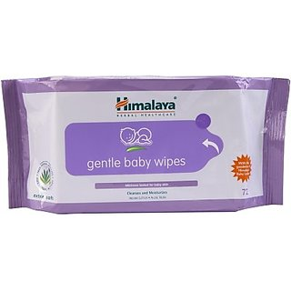 Himalaya  Gentle Babywipes 72s