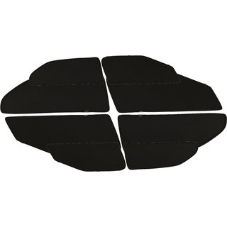 Able Zed Black Car Magnetic Sun Shade Curtains For LAND ROVER FREELANDER2 Set Of 8