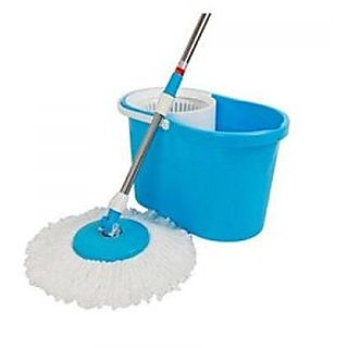 Kawachi Modern Magic Wash Floor Cleaning 360 Spin Mop