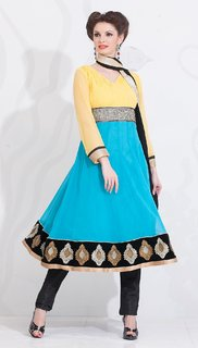 AccelDiamond Ready To Wear Stitched Anrkali Salwar Suit (SK_18)