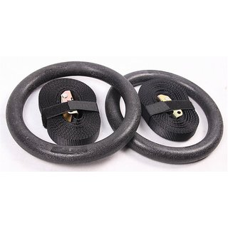 Olympics Gym Gymnastics Ring Pair with Straps
