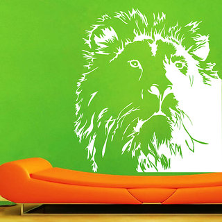 Decor Kafe Lion Wall Sticker