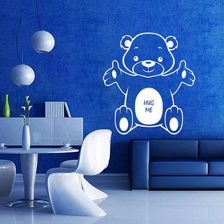 Decor Kafe Bear Hug Wall Sticker (17x18 Inch)