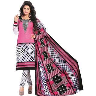 Navrang Cotton Dress Material (Unstitched)-1206