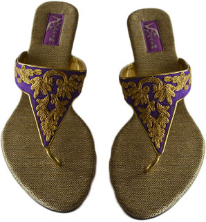 Bling Women's Purple Flats