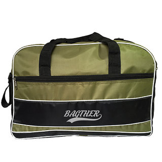 Bagther Stylish Duffel Bag - Olive Green