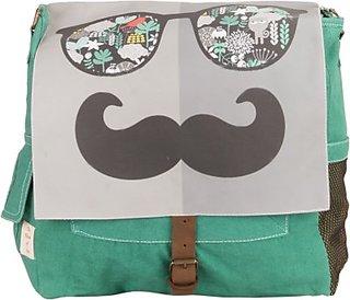 The House of Tara Retro Bag 13 L Medium Backpack (Multicolor, Size - 300) HTBS 05