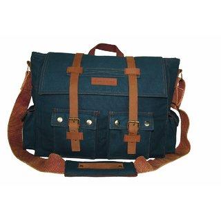 Buy The House Of Tara 15 inch Laptop Messenger Bag (Combat Blue) HTMB 03  Online - Get 53% Off 2dcc9fb0fda9f