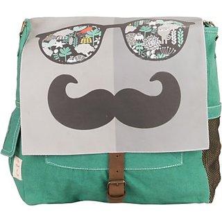 The House of Tara Retro Bag 13 L Medium Backpack (Multicolor Size - 300) HTBS 05